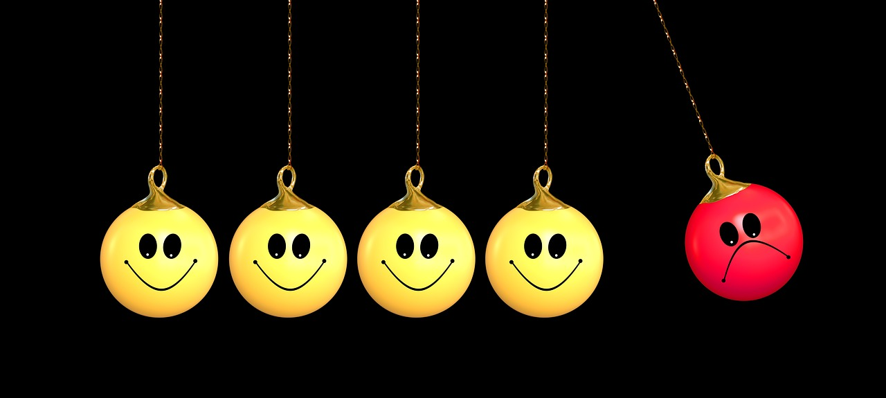 Symbolic image with smileys