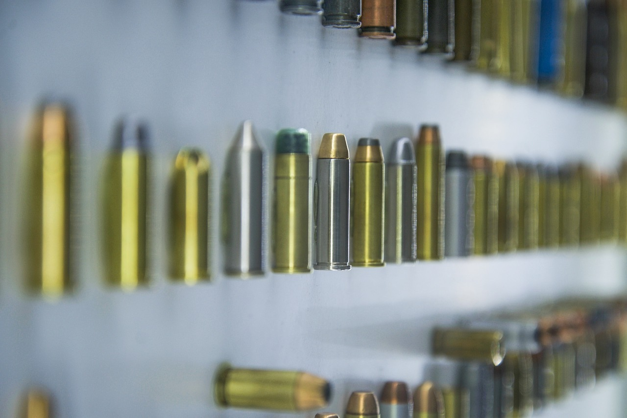 Symbolic image: various bullets